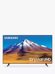 Samsung UE75TU7020 (2020) HDR 4K Ultra HD 75 inch TV £728 @ John Lewis & Partners