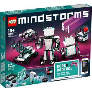 LEGO MINDSTORMS: Robot Inventor (51515) - £199.99 with code @ IWOOT