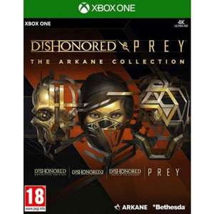 [Xbox One] Dishonored & Prey - The Arkane Collection - £12.95 delivered @ The Game Collection