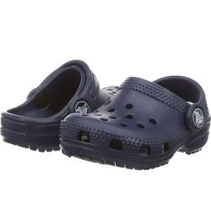 Children's crocs in Navy size 6 child £7.59 prime / £12.08 non prime @ Amazon