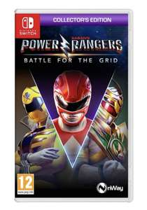 Power Rangers: Battle for the Grid: Collector's Edition (Nintendo Switch) - £14.99 with free click & collect at Smyths Toys