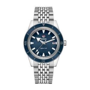 Rado Captain Cook Blue Dial & Stainless Steel Bracelet 42mm Watch - £1,230 @ Fraser Hart