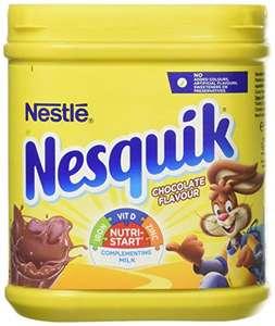 Nesquik Chocolate Flavour Milkshake Powder, 500 g - £2 Prime (£6.49 Non Prime) / £1.70 S&S @ Amazon