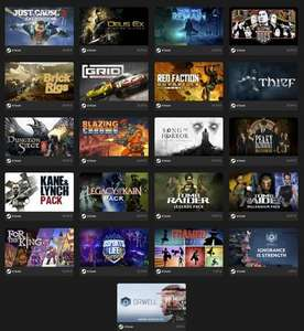 Fanatical Favs - 2 Games for £6.29 - Just Cause 3 XXL, Tomb Raider Legends, Kane & Lynch Pack, Thief, GRID, Sleeping Dogs + more @ Fanatical