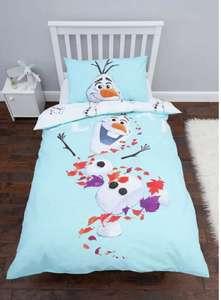 Disney Frozen 2 Olaf Bedding Set - Single £9.99 @ Argos Free click and collect