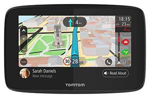 "TomTom Car Sat Nav GO 5200 5"" Handsfree Calling, Siri, Google Now, WiFi Updates, Lifetime Traffic via SIM Card and World Maps £162 Amazon"