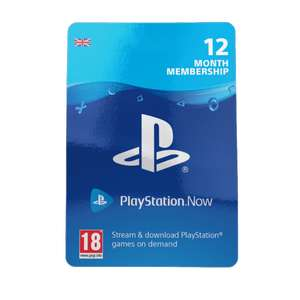 PlayStation Now 12 Month UK Subscription - £42.85 @ ShopTo