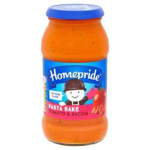 Homepride Pasta Bake Tomato & Bacon 485g - £1.00 (was £1.50) @ iceland