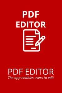 Editor for Adobe Acrobat PDF Reader Annotator : Merge/ Edit/ Sign & Fill PDF - Temporarily Free @ Microsoft App Store