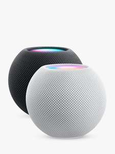 Apple HomePod mini Smart Speaker, Space Grey or white - £90 Delivered @ John Lewis & Partners