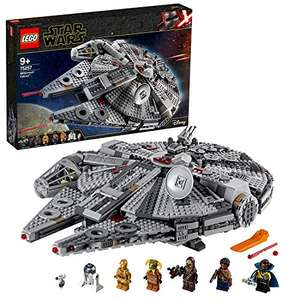 LEGO Star Wars 75257 Millennium Falcon Starship Construction Set - 27th Apr Delivery - £109.63 (UK Mainland) Sold by Amazon EU