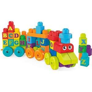 Mega Bloks alphabet train £7.98 prime / £12.47 non prime @ Amazon