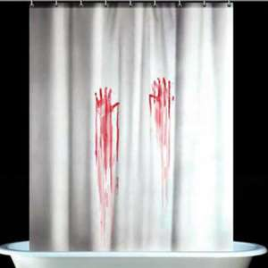Psycho / Blood Bath Shower Curtain only £1 (+ BOGOF with code) + £3.49 delivery @ Pound Toy