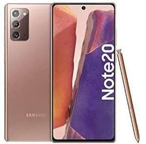 Samsung Galaxy Note 20 (16.95 cm 256 GB Memory, 8 GB RAM, Dual SIM Smartphone - £538 (UK Mainland) @ Amazon Germany