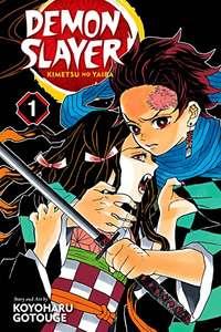 Free Demon Slayer vol 1 (192 page) e-manga at Comixology