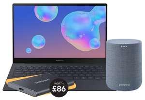 "Samsung Galaxy Book S Intel, 13"", 256GB + Free Harman Kardon Speaker & Claim a Samsung T7 Portable SSD - £639.20 At Student Beans @ Samsung"