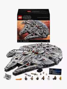 LEGO Star Wars 75192 Ultimate Collector Series Millennium Falcon £584.99 delivered @ John Lewis & Partners