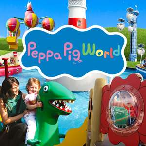 Paultons Park / Peppa Pig World - 2 Days Tickets + Hotel Stay from just £51.50pp (Based on 4 people) - Example dates in thread
