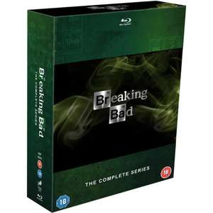 Preowned: Breaking Bad: The Complete Series Blu-ray £12 (+£1.95 delivered) @ Cex
