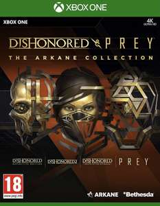 Dishonored & Prey - The Arkane Collection (Xbox One) £12.30 with code @ The Game Collection (use code)