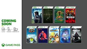 Xbox Game Pass Additions - Red Dead Online, Final Fantasy X/X-2 , Just Cause 4, Remnant: From the Ashes & More + 4 Months Spotify Premium