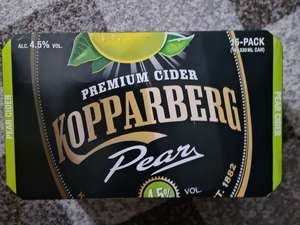 Kopparberg Premium Cider with Pear 15 × 330ml £9.99 @ Home Bargains Merryhill
