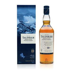 Talisker 10 Year Old Single Malt Scotch Whisky, 70 cl £30 @ Amazon