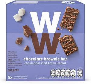4/5pk Weight Watchers Snack Bars Flavours 2 for £1 @ Farmfoods