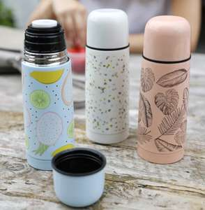 Stainless Steel Thermal Flask 350mls Now £3 delivery is £3 or Free with £15 spend @ Lisa Angel