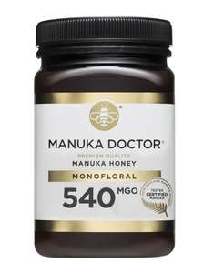 Manuka Honey 500G 540MGO - £50 delivered @ Manuka Doctor