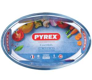 Pyrex 1.5L Oval Pie Dish £3.96 Free click & collect @ Robert Dyas