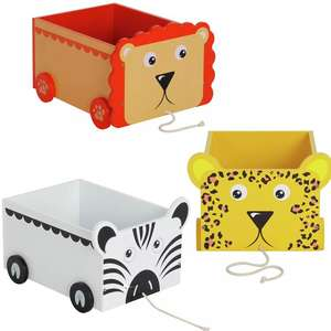 Argos Home Pull Along Toy Storage Buggy - £9.50 - £10 Each Using Click & Collect / +£3.95 Delivery @ Argos