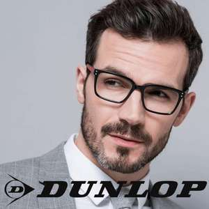 Two Pairs of Dunlop Prescription Glasses for £30 delivered using code @ Low Cost Glasses