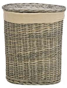 Casa Wicker Large Laundry Basket £15 + £5 delivery @ Leekes