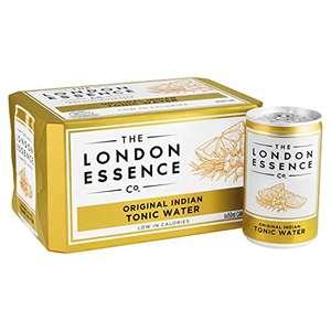 London Essence Original Indian Tonic Water, 6 x 150mL - £2.00 prime / £6.49 non prime (£1.80 S&S -20% First Order) @ Amazon