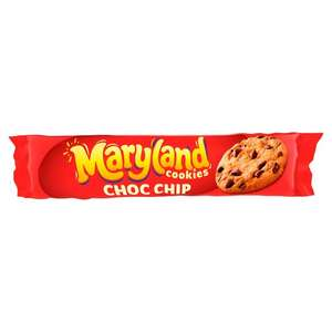 Maryland Chocolate/ Mint/ Hazel Nutter Chip Cookies (230G) 67p @ Tesco