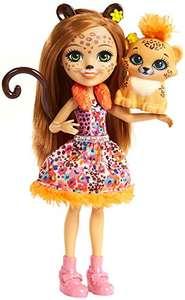 Enchantimals Cherish Cheetah Doll £4.89 (Prime) + £4.49 (non Prime) at Amazon