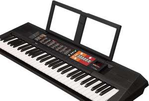 YAMAHA PSR-F51 Electronic Keyboard - Portable Beginners Instrument with 61 Full Sized Keys, in Black Now £72.40 @ Amazon