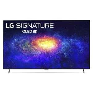 "LG OLED77ZX9LA 77"" HDR Smart 8K Ultra HD TV - £7499 Delivered with voucher @ Hughes"