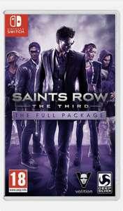 Saints Row: The Third Full Package - Nintendo Switch - £21.99 New @ Argos Ebay