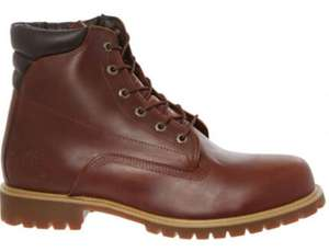 TIMBERLAND Brown Leather Boots now £51 Click and collect £1.99 at TK Maxx