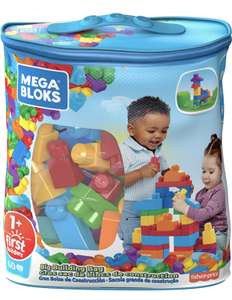 Mega Bloks DCH55 Big Building Bag, Blue, 60 Pieces £8.66 at Amazon Prime (+£4.49 Non Prime)