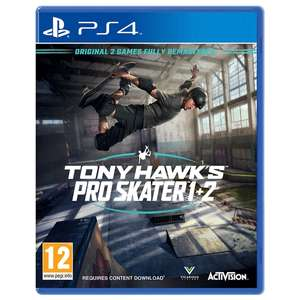 Tony Hawk's Pro Skater 1 & 2 (PS4) £19.99 (Free Click & Collect) @ Smyths Toys