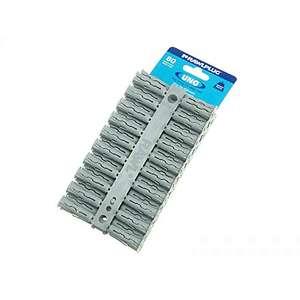 Rawlplug 68615 10 x 36 mm Uno Plug Card - Grey (160 pieces) £2.22 + £4.49 NP @ Amazon