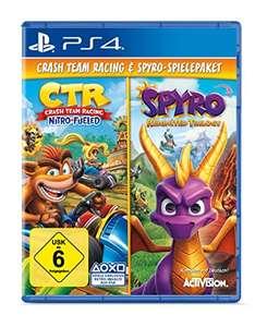 Spyro Reignited Trilogy + Crash Team Racing Nitro Fueled Bundle (PS4) £26.46 Delivered @ Amazon