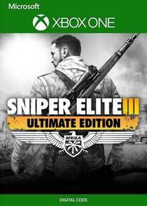 Sniper Elite 3 Ultimate Edition [Xbox One / Series X S - Argentina via VPN] £2.07 delivered using code @ Eneba / ArgentinaVPNGames