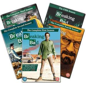 Breaking Bad: The Complete Series (DVD Set) £8 Delivered @ WeeklyDeals4Less
