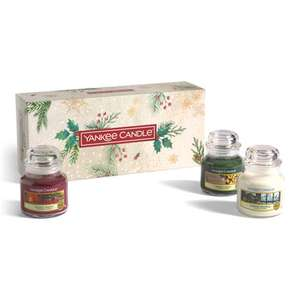 3 Original Small Jar Candle Gift Set £20.44 delivered @ Yankee Candle