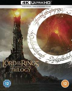 The Lord of The Rings Trilogy: [Theatrical and Extended Edition] [4K Ultra HD] £60 Amazon