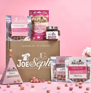 Joe & Seph's Pamper Night Popcorn Gift Box ( Vegetarian Gluten Free ) Now £10.59 Prime - £4.49 NP @ Amazon